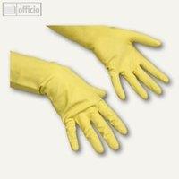 Artikelbild: Ökonomische Naturlatex-Handschuhe CONTACT Gr. M / 8