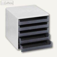 Artikelbild: Schubladenbox mit 5 offenen Schüben
