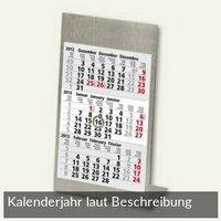 Artikelbild: 3-Monats-Tischaufstellkalender - 105 x 230 mm