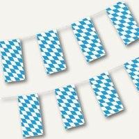 Artikelbild: Flaggenkette Bayrisch Blau