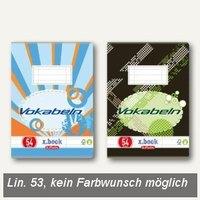 Artikelbild: Vokabelheft x.book DIN A5