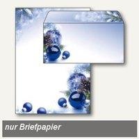 Artikelbild: Weihnachtspapier Blue Harmony