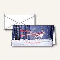 Artikelbild: Weihnachtskarten Winter´s Eve inkl. Umschläge A6