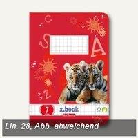 Artikelbild: Schulheft x.book DIN A5