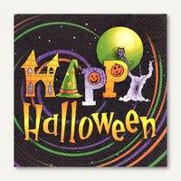 Artikelbild: Motivservietten Happy Halloween - 33 x 33 cm