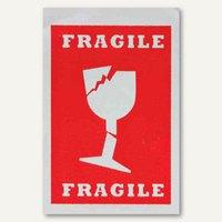Artikelbild: Hinweisetikett Versandkartion Fragile - 74 x 105 mm