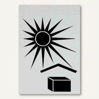 Artikelbild: Hinweisetikett Versandkartion Vor Sonne/Hitze schützen - 74 x 105 mm
