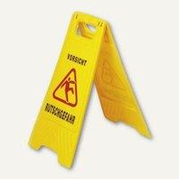 Artikelbild: GVS-Warnschild Vorsicht Rutschgefahr - Höhe: 57 cm