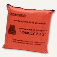 Artikelbild: Pannenwesten/Warnwesten-Set Family 2+2