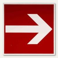 Artikelbild: Hinweisetikett - Brandschutz / Richtungsangabe