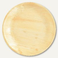 Artikelbild: Einweg-Teller Palmblatt pure