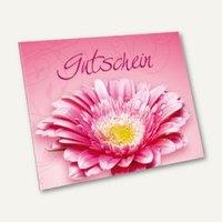 Artikelbild: Klapp-Gutscheinkarte PINK FLOWER