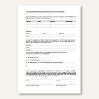 Artikelbild: Formular Entbindung Schweigepflicht - DIN A4