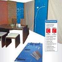 Artikelbild: flesta® Staubschutz Wand-Set PROFESSIONAL inkl. 2 Staubschutztüren