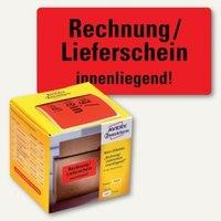 Artikelbild: Hinweis-Etikettenrolle - Warnetiketten für den Versand