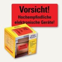 Artikelbild: Hinweis-Etikettenrolle - Vorsicht! Elektronische Geräte!