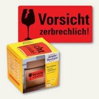 Artikelbild: Hinweis-Etikettenrolle - Vorsicht zerbrechlich!