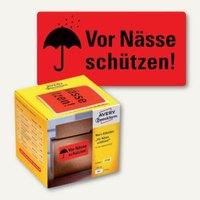 Artikelbild: Hinweis-Etikettenrolle - Vor Nässe schützen!