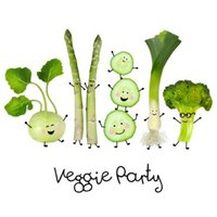 Artikelbild: Servietten Veggie Party