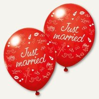 Artikelbild: Luftballons Just married
