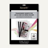 Artikelbild: Menü-Folien für Laser-Drucker