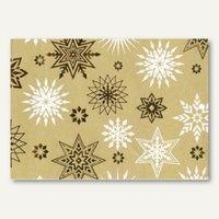 Artikelbild: Weihnachts-Geschenkpapier Golden stars