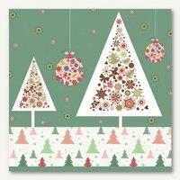 Artikelbild: Weihnachts-Motivservietten Fancy Trees