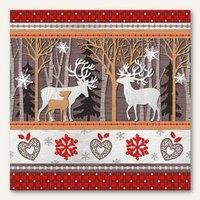 Artikelbild: Weihnachts-Motivservietten Silent Forest