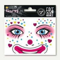 Artikelbild: Face Art Sticker Clown Annie