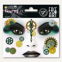 Artikelbild: Face Art Sticker Steampunk Marie