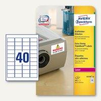 Artikelbild: Avery Zweckform Kraftkleber-Etiketten für Laserdrucker