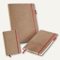 Artikelbild: Notizbuch senseBook RED RUBBER - 90 x 140 mm
