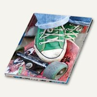 Artikelbild: Notizbuch Skater
