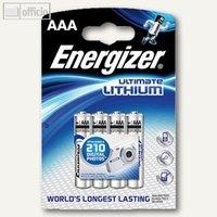 Artikelbild: Batterie Ultimate Lithium AAA/L92 Micro