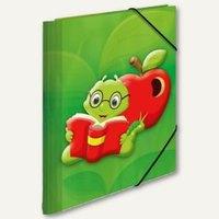 Artikelbild: Eckspannmappe Kids - Fritz der Wurm
