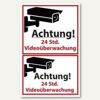 Artikelbild: ZDesign Hinweisschild Videoüberwacht