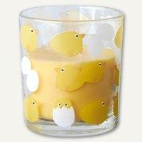 Artikelbild: Glas mit Wachsfüllung Chicken