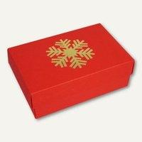 Artikelbild: Geschenkbox GOLDENE SCHNEEFLOCKE S