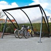 Artikelbild: Fahrradüberdachung HALBMOND - Grundmodul