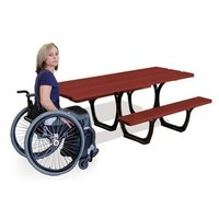 Artikelbild: Picknicktisch SEVILLA mit Rollstuhlplatz