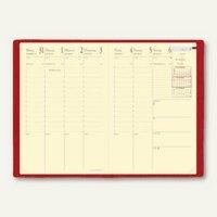 Artikelbild: MINISTER PRESTIGE Kalender -16 x 24 cm - 1 Woche / 2 Seiten