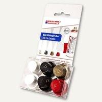 Artikelbild: Sprühkopfset mit unterschiedliche Sprühbreiten für Edding Permanentspray