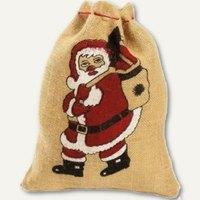Artikelbild: Weihnnachts-Jutesack Weihnachtsmann