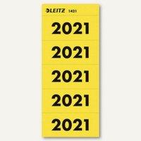 Artikelbild: Ordner-Inhaltsschild Jahreszahl 2021