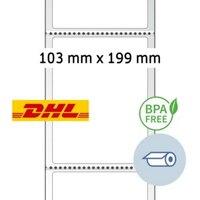 Artikelbild: Thermo-Versandetiketten-Rolle DHL