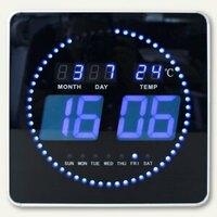 Artikelbild: LED-Wand- & Tischuhr FLO LED