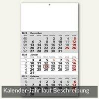 Artikelbild: 3-Monatswandkalender - 30 x 49 cm