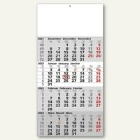 Artikelbild: 4-Monatswandkalender - 30 x 60 cm