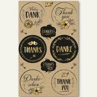 Artikelbild: Geschenke-Sticker DANKE