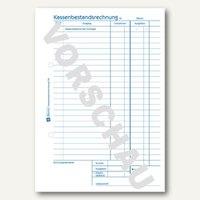 Artikelbild: Formular Kassenbestandsrechnung